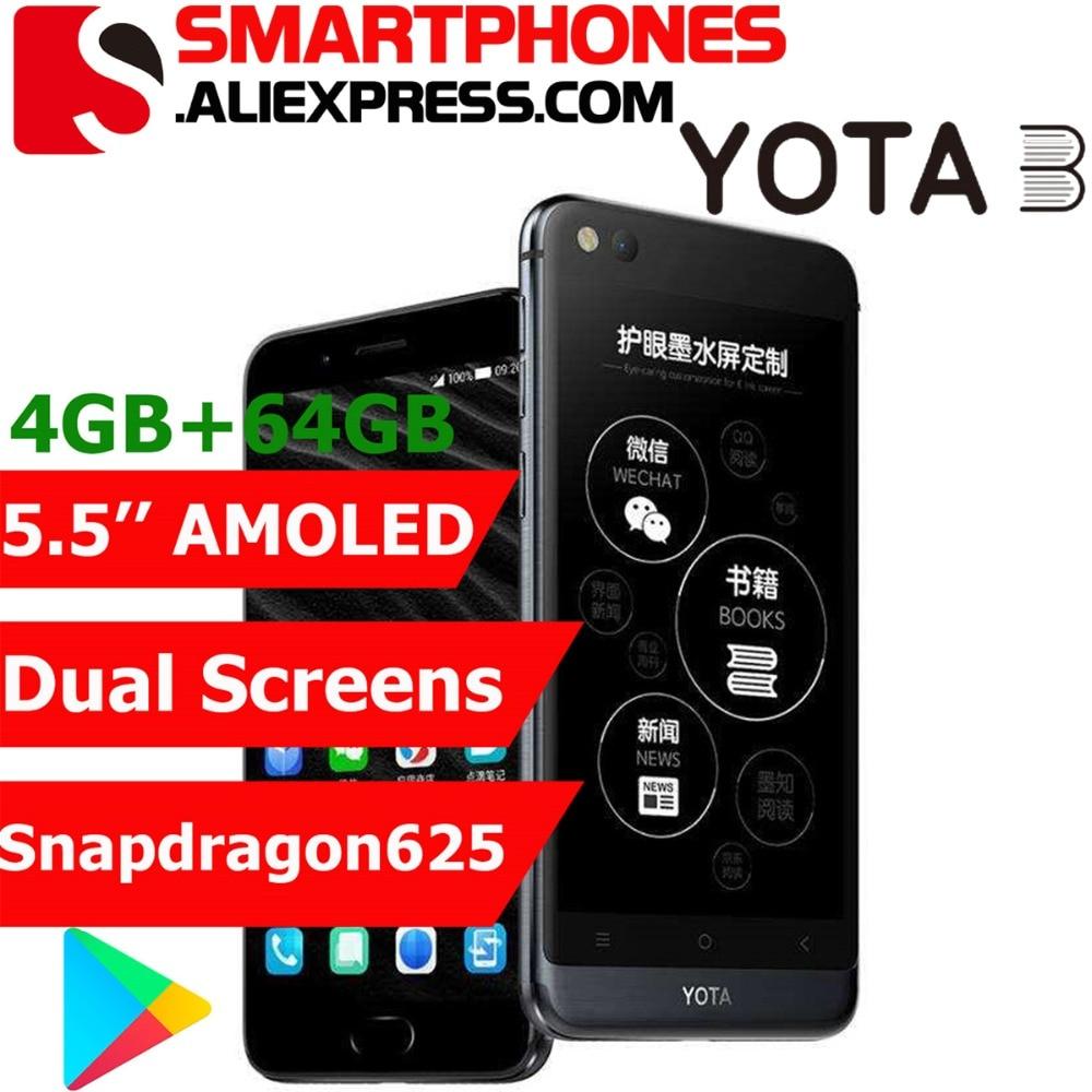 Yota 3 Yota3 Yotaphone 3 Octa Core 4G 64G OS7 1 Dual Screen 5 5 FHD