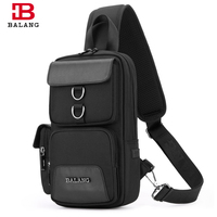 BALANG Brand 2018 New Arrival Men Single Strap Travel Bag For College Crossbody Bags Casual Style