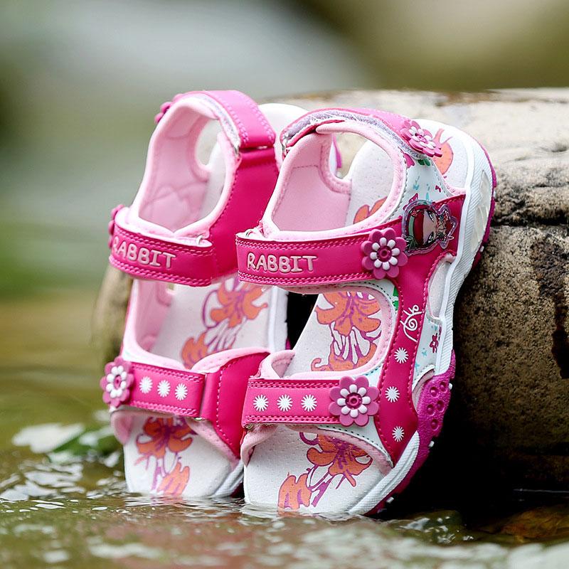 meisjes sandalen zomer nieuwe stijl kinderen schoenen meisje mode - Kinderschoenen - Foto 6
