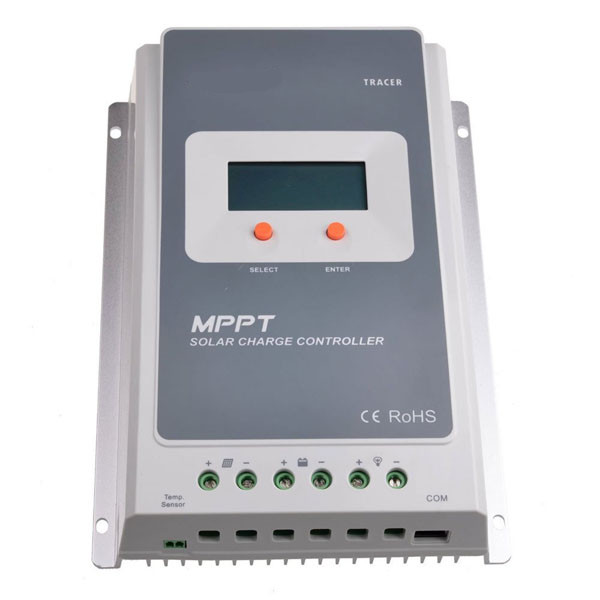 Tracer MPPT Solar Charge Controller 10A/20A/30A/40A 12V 24V Auto Switch LCD Solar Panel Battery Regulator Charge Controller 12v 24v 20a waterproof auto switch pwm solar panel cell battery regulator charge controller