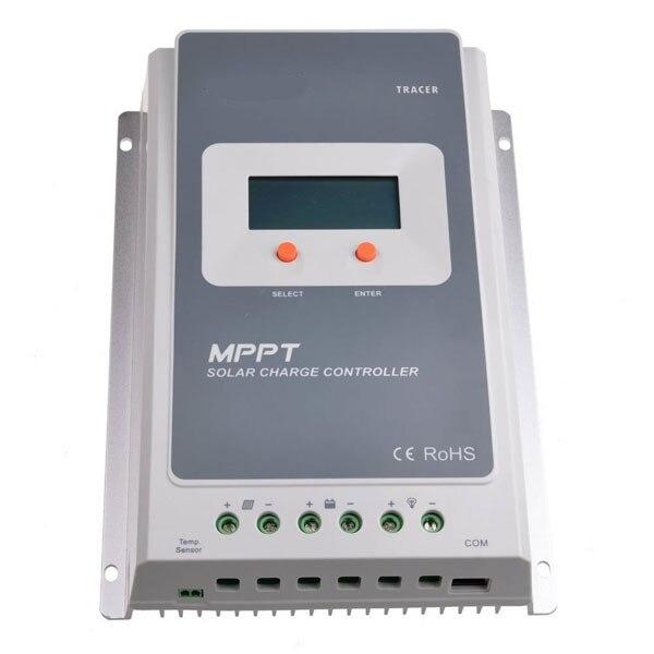 Traceur MPPT contrôleur de Charge solaire 10A/20A/30A/40A 12 V 24 V commutateur automatique LCD panneau solaire régulateur de Charge régulateur de batterie