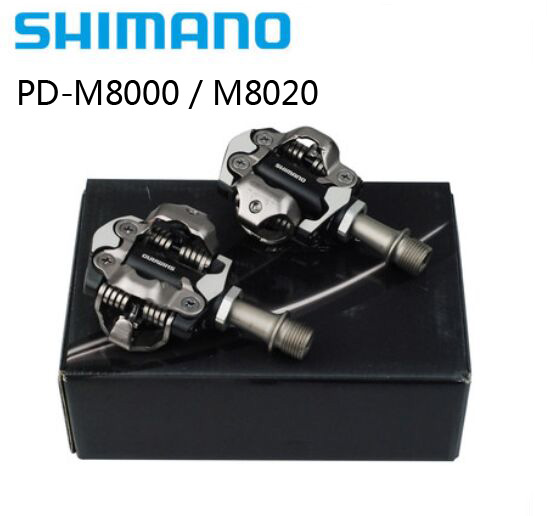 Shimano XT PD M8000 M8020 Self-Locking Cycling Mountain MTB Bike Pedales Clip Components Using for Bicycle Racing Cleats Parts shimano deore xt pd m8000 self locking spd pedals mtb components using for bicycle racing mountain bike parts