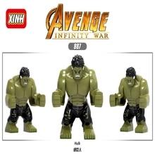 Legoing Mavel Hulk, Железный человек, игрушки, Мстители, эндшпиль, супер герой, фигурки, мэйллы, фигурки, кирпичи, строительные блоки, детские подарки, танос