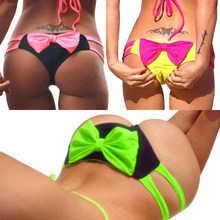 090a8ae646 Summer style 2017 swimsuit bow bikini bottom cute Swimwear brand biquini bikinis  sexy suit women usa