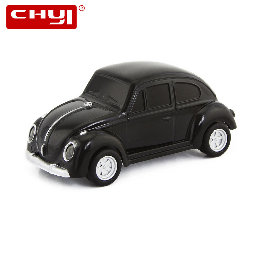 CHYI USB Flash Drive VW Beetle Car Shape Pendrive 32GB U Disk 4GB/8GB/16GB/64GB Pen Driver Mini Memory Stick For Gift Hot Sale playerunknown s battlegrounds pubg winner chicken bobble head action figure with magnet pvc collectible model toy 2pcs set