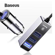 Baseus Car USB Charger 4 Ports Output Car Charger M