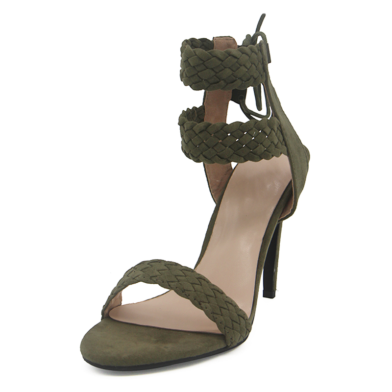 LALA IKAI Ankle Strap Sandals Women (2)