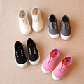 NEW Spring and Autumn children canvas shoes for girls boys children sneakers kid pedal lazy shoes sport shoes eur size 22-37