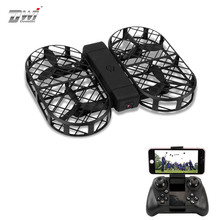Dwi Dowellin D7 WIFI FPV With 0.3MP 2MP Camera High Hold Mode Foldable Arm RC Drone Quadcopter With RC VS VISUO HS809W HS809HW