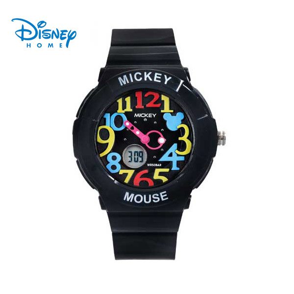 100% Genuine Disney Fashion Jelly Quartz Watch Dive Swim 50m Waterproofed Sports Watch boys girls Childrens Watches SP80036-2