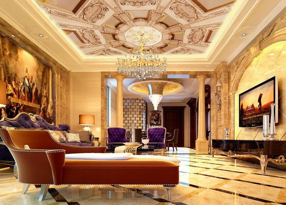 wallpaper 3d ceiling Living room ceiling mural reliefs roof 3d ceiling murals wallpaper living 3d wallpaper mural wallpaper 3d home decoration cherry trees 3d wallpaper living room ceiling non woven wallpaper ceiling