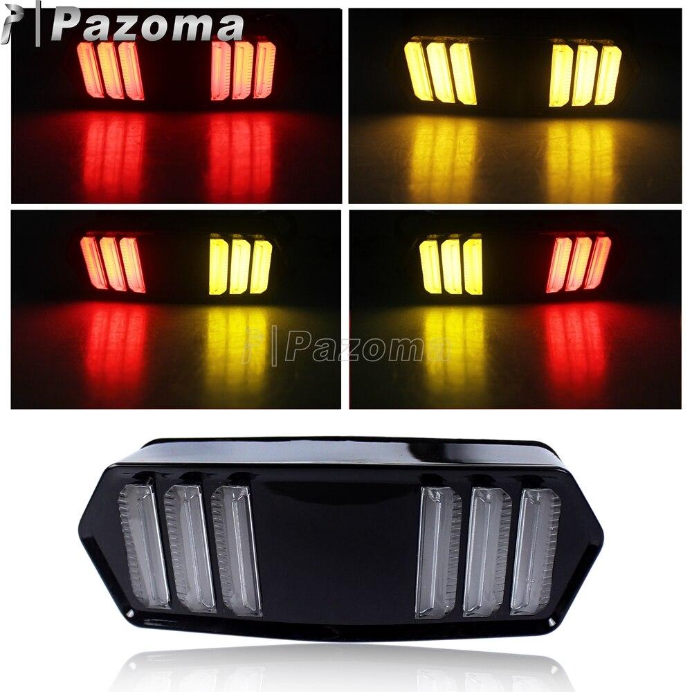 Black Motorcycles LED Tail Brake Turn Signal Light for Honda MSX Grom 125 2013-2016 CB CBR 650 F 2014-2015 CTX 700 N 2013-2015 Honda Grom
