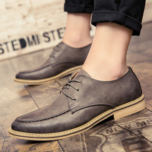 New 2019 Luxury Leather Brogue Mens Flats Shoes Casual British Style Men Oxfords Fashion Brand Dress Shoes For Men mycolen luxury leather brogue mens lace up handmade flats shoes british style men fashion men shoes brand dress shoes for men