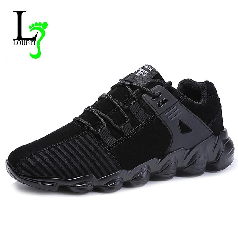 Hombres Transpirable Zapatos Moda gris Encaje Ligero Sneakers 2018 Up marrón Negro Or1xqOwE