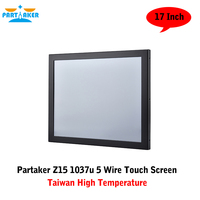 Industrial Panel PC Touch Screen With 17 Inch Taiwan High Temperature 5 Wire Touch Screen Intel