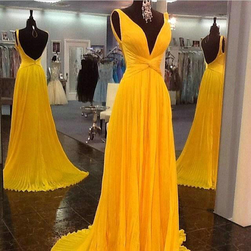 Popular Yellow Gold Prom Dresses-Buy Cheap Yellow Gold Prom ...