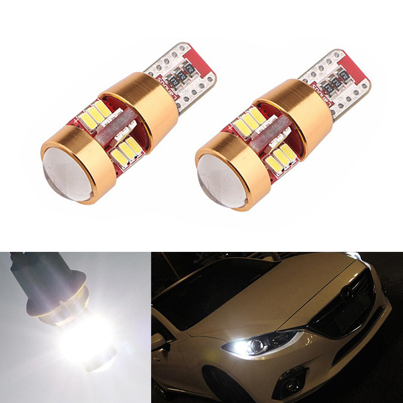 2x LED T10 Parking Light Wedge Light For Lada Granta Vaz Kalina Priora Niva Samara 2 2110 Largus 2109 2107 <font><b>2106</b></font> 4x4 2114 2112 image