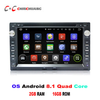 Android 8.1 Car DVD Player GPS for Volkswagen Passat B5/Golf 4/Polo with Radio Wifi BT Mirror Link Camera DVR, Support DAB+ OBD