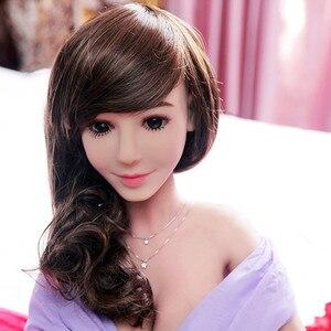 Image 1 - Yannova #7 poupée de sexe 100cm complet TPE avec squelette adulte jouet sexuel amour poupée vagin réaliste chatte réaliste Sexy poupée pour hommes