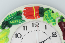 Silent Non-ticking Wall Clock 12 inches Diameter Resin Wall Clock 3D Hand Painted