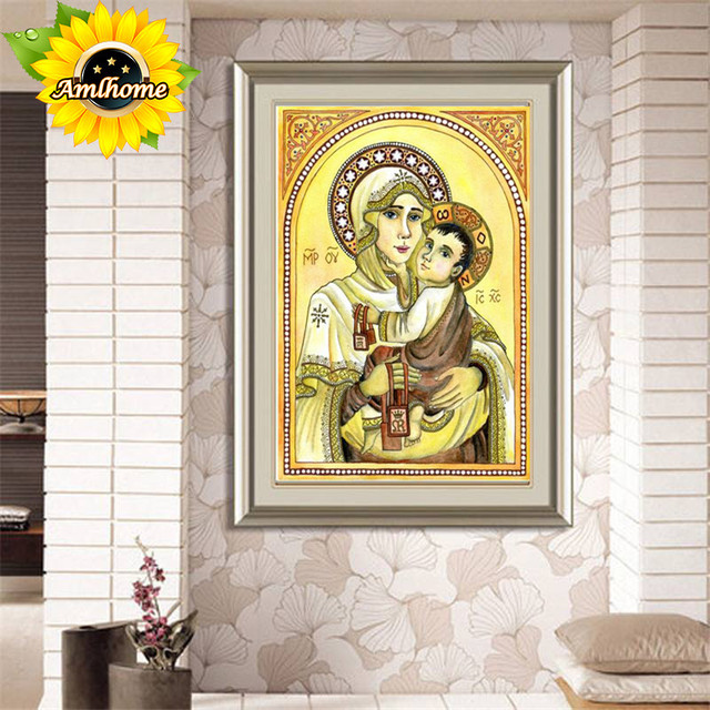 Aml Home Full Square Diamond Diy Painting All Dogs Go To Heaven