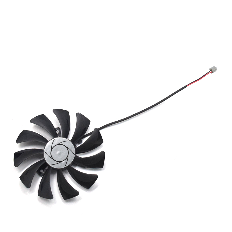NEW HA9010H12F-Z 85mm 2Pin GTX 1050Ti cooling fan DC 12V For MSI GeForce GTX 1050 Ti 4G OC GTX 1050 2G OC graphics card cooling image