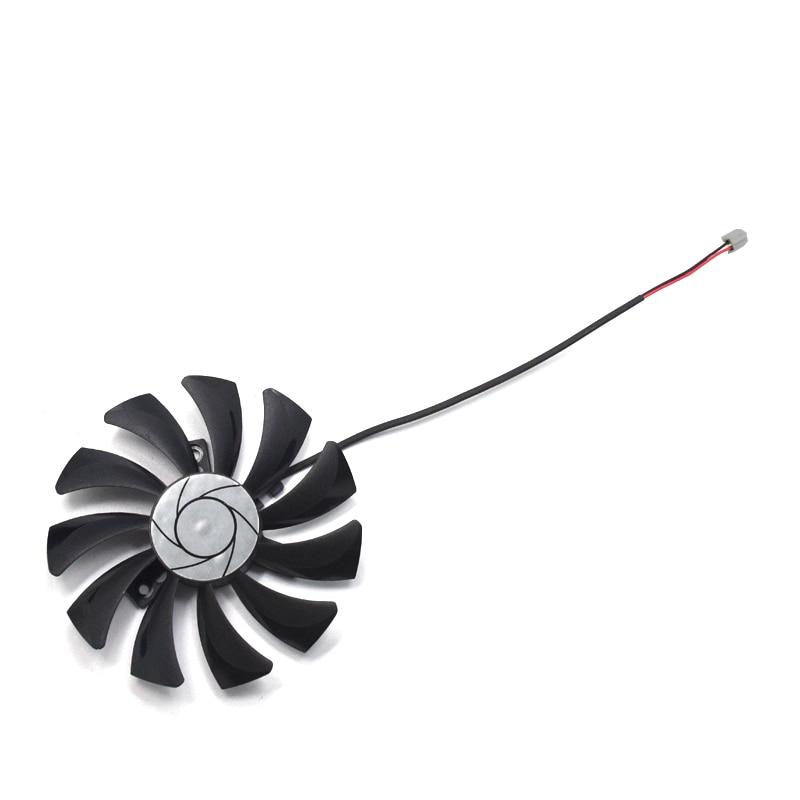 Nuevo HA9010H12F-Z 85mm 2Pin GTX 1050Ti ventilador de refrigeración DC 12 V para MSI GeForce GTX 1050 Ti 4G OC GTX 1050 2G OC refrigeración de tarjeta gráfica