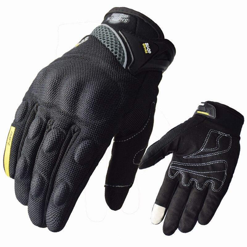 Летние перчатки SUOMY для езды на мотоцикле с сенсорным экраном, сетчатые дышащие перчатки для мотокросса, перчатки для езды на мотоцикле, пер...