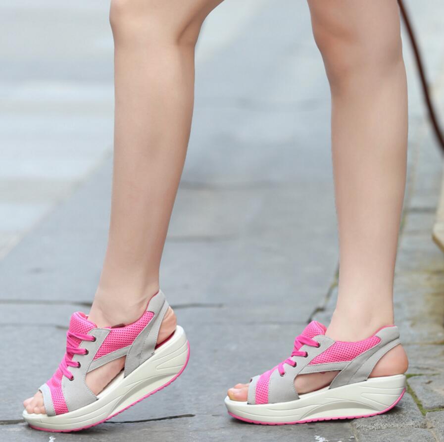 SAGYUA Candy Elegant Sommar Kvinnor Mode Sandal Handgjord Mujer Peep - Damskor - Foto 4