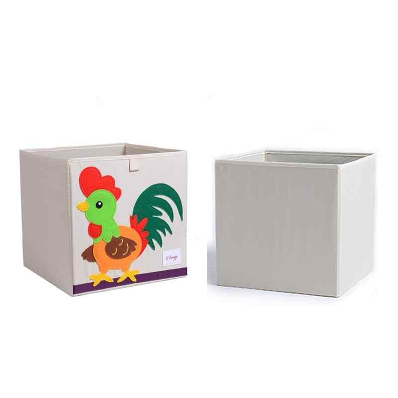 1 шт. моющийся ящик для хранения складной блокнот-органайзер для хранения одежды ящики для хранения игрушек контейнер для гостиной Детская комната