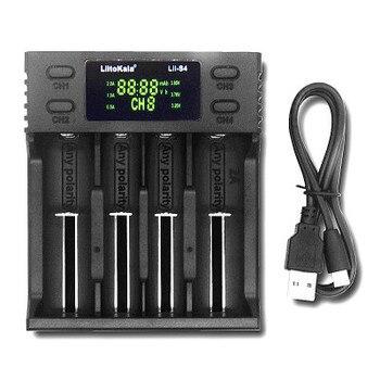 цена на LiitoKala Lii-S4 lii-S2 Lii-S1 LCD Charger 3.7V 18650 18350 18500 16340 21700 20700B 20700 14500 26650 1.2V AA AAA Smart Charger