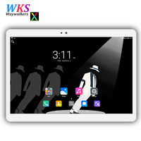 Free Shipping 10 Inch Tablet PC Android 7 0 Phone Call Octa Core 64GB 4GB 1280