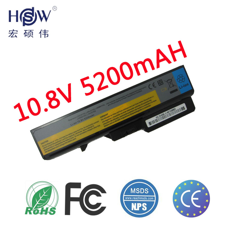 HSW 6cell Laptop Battery For Lenovo IdeaPad G460 G560 V360 V370 V470 B470 G460A G560 Z460 Z465 Z560 Z565 Z570 LO9S6Y02 LO9L6Y02 стоимость