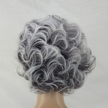 Synthetic Short Layered Curly Hair Puffy  Bangs
