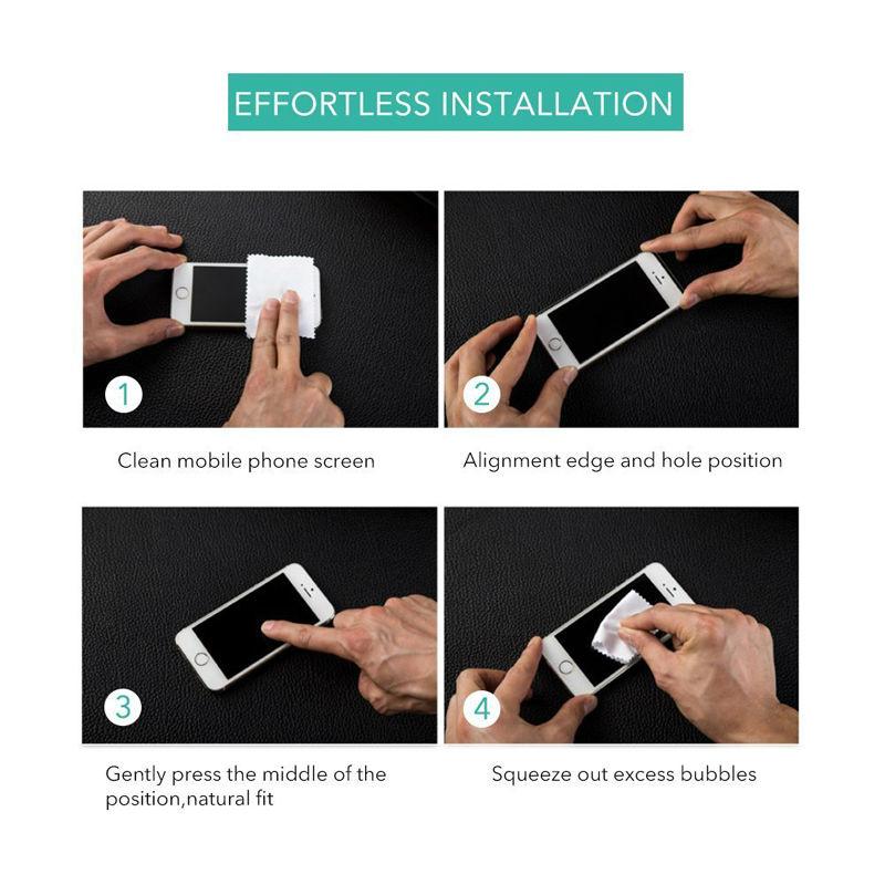 Motorola Moto E4 E4 Artı 4th Gen 0.3mm 2.5D 9 H Temizle Premium - Cep Telefonu Yedek Parça ve Aksesuarları - Fotoğraf 6