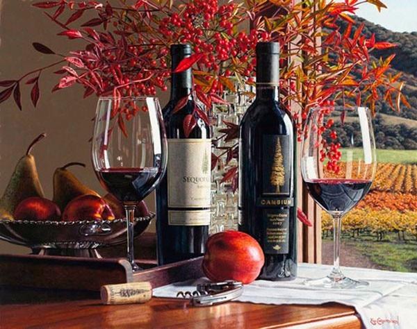 5d diy pintura diamante fruta ainda vida casa decorativa diamante bordado pintura broca strass mosaico presente romântico vinho tinto