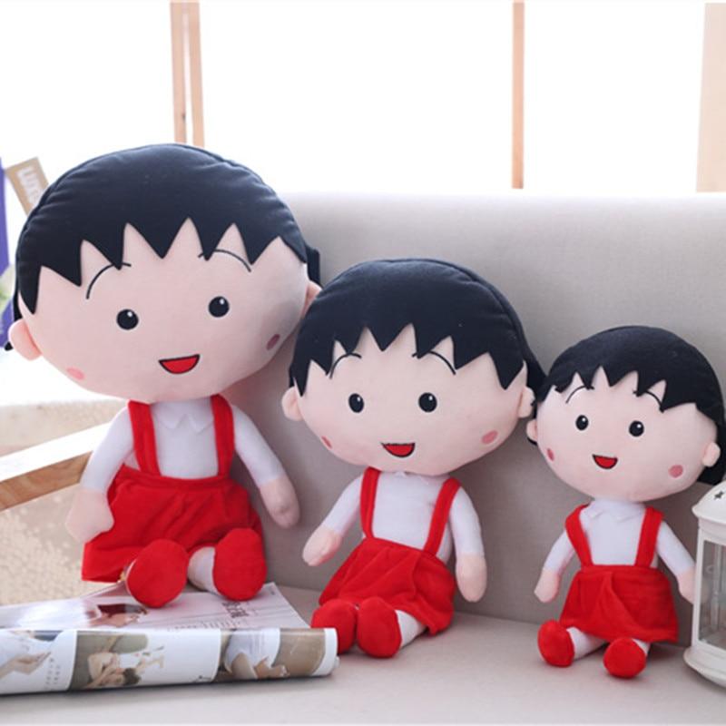 30CM Gift For Baby Cartoon Sakura Momoko Chibi Maruko Chan