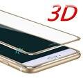 Aleación de aluminio de cristal templado teléfono case para iphone 6 case 6 s 6 7 plus 5 5S proteger a pantalla completa cobertura para cubrir iphone 7 case