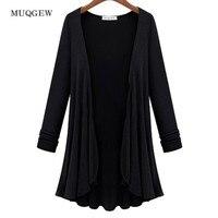 MUQGEW 2017 Yeni Tasarım bayan giyim Ceket sonbahar Güzel ucuz Ithal Çin artı boyutu kadın giyim moda feminina