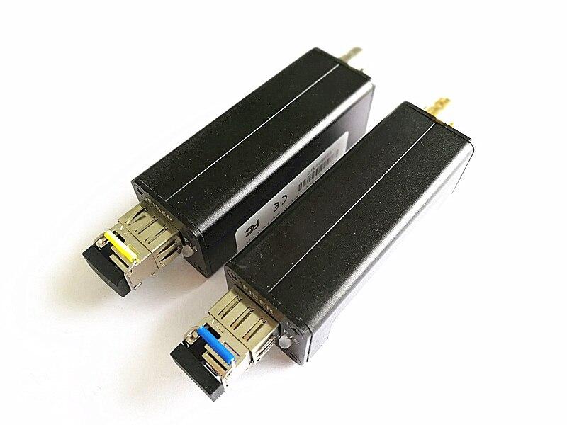 Мини HD SDI волоконно оптический приемопередатчик для SDI медиаконвертер видео по оптоволокну