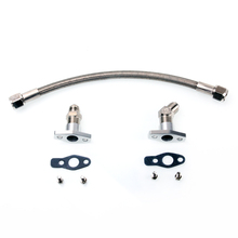 Kinugawa Turbo Oil Drain Line Kit 50cm 8AN for Mitsubishi TD02 TD03 TD04 TD05 TD06 / for KKK K03 K04