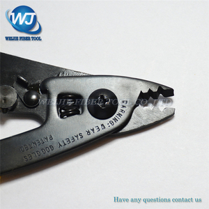 Image 4 - Free shpping CFS 3 Three port Fiber Optical Stripper/ Pliers/ Wire strippers FTTH Tools Miller Optical Fiber Stripping Pliers