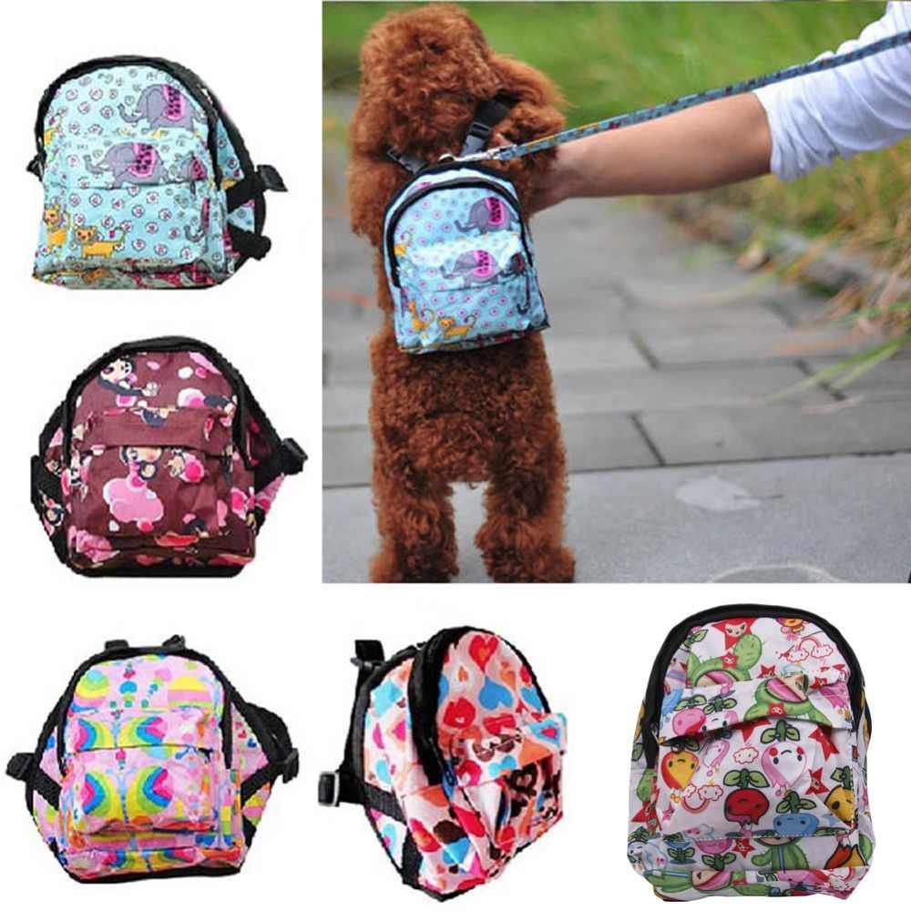 กระเป๋าสุนัขกระเป๋าเป้สะพายหลัง Carrier สำหรับสุนัขแมวลูกสุนัขที่มีสายจูง