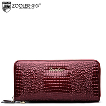 Zooler Brand Superior Leather Wallets Women Handbags Lady Wallet Stylish Dayclutch Long Purse Wallet Famous