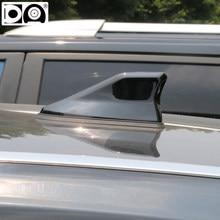 Antena especial de barbatana de tubarão kia sportage, antena de rádio de carro à prova d'água, sinal mais forte, pintura de piano para kia sportage 3