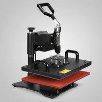 Digital Heat Press Machine 9IN1 T Shirt Sublimation Printer Tranfer Full 360 degree Rotation of Swing Away Design
