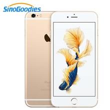 Apple iPhone 6 1 ГБ ОЗУ 4,7 дюймов IOS двухъядерный 1,4 ГГц 32 Гб ПЗУ 8,0 МП камера 3g WCDMA 4G LTE смартфон