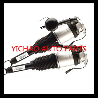 1 par trasero amortiguador de aire suspensión neumática de choque para el Audi A8 (L) 4E0616001E (R) 4E0616002E resortes neumáticos amortiguador de gas
