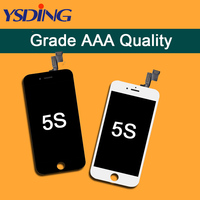 5Pcs LOT 4 AAA LCD Touch Screen For IPhone 5 5S 5C LCD Display Assembly With