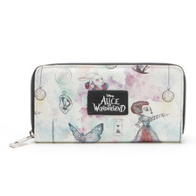 Women Wallet Alice in Wonderland